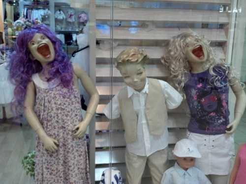 scary terror mannequin - 7755057920
