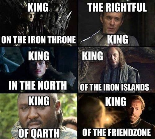 jorah mormont Game of Thrones ser jorah friendzone - 7755079680