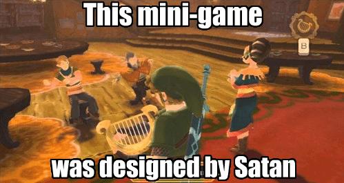 mini games zelda