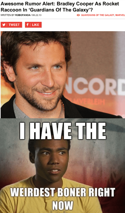 news,uproxx,guardians of the galaxy,bradley cooper