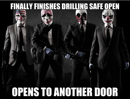 payday 2,video game logic