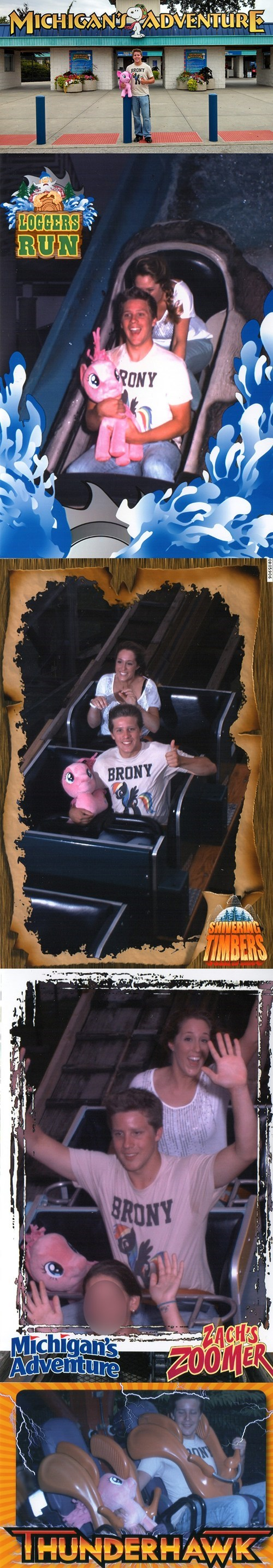 Bronies IRL pinkie pie amusement parks - 7755269376