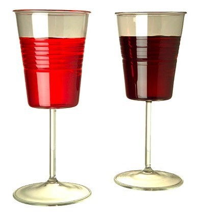 design red solo cups wine glass funny