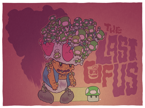 crossover art the last of us mario - 7755321344