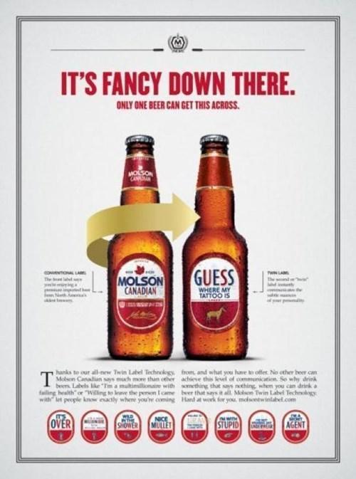 beer classy funny molson - 7755323136
