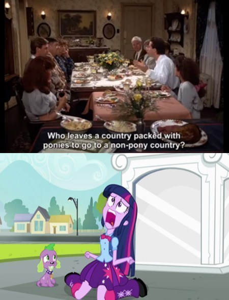twilight sparkle seinfeld - 7755444480