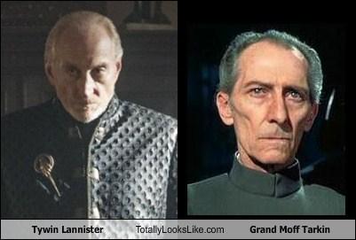 tywin lannister star wars grand moff tarkin Game of Thrones totally looks like peter cushing - 7755512320
