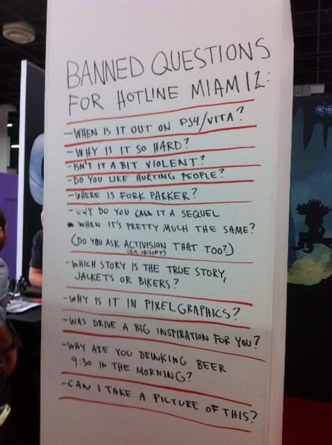 Hotline Miami 2,Gamescom 2013