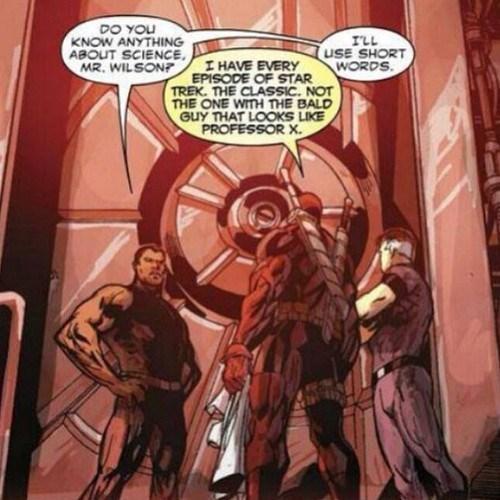 deadpool comics Star Trek funny - 7755618304