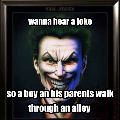 joker jokes orphans batman - 7755636224