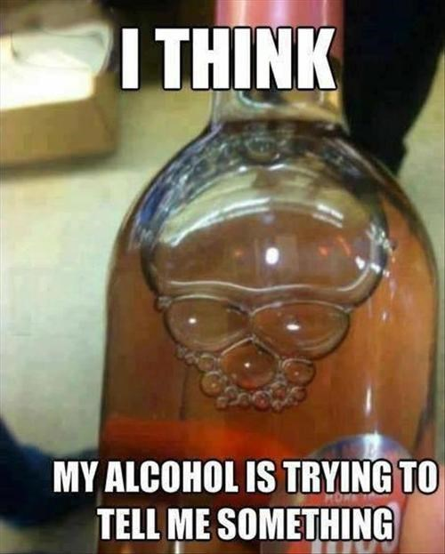 metal Music booze skull funny after 12 g rated - 7755647232