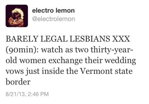 lesbians gay marriage vermont - 7755658752