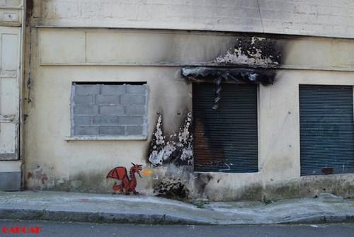 dragon Street Art design graffiti hacked irl funny - 7755659008