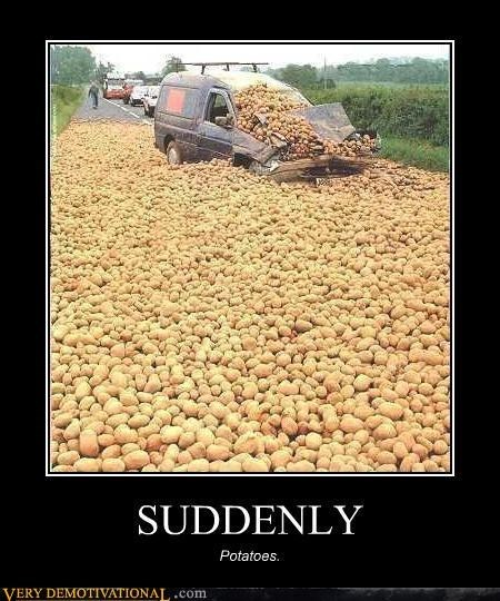wtf suddenly van potatoes