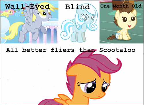 Scootaloo,flying