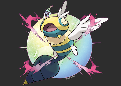 Pokémon,art,dunsparce