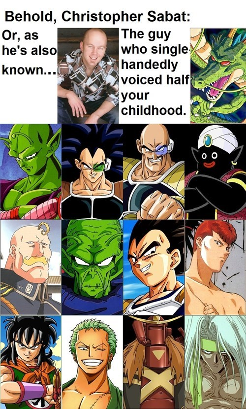 anime Dragon Ball Z cartoons voice actors - 7755884288