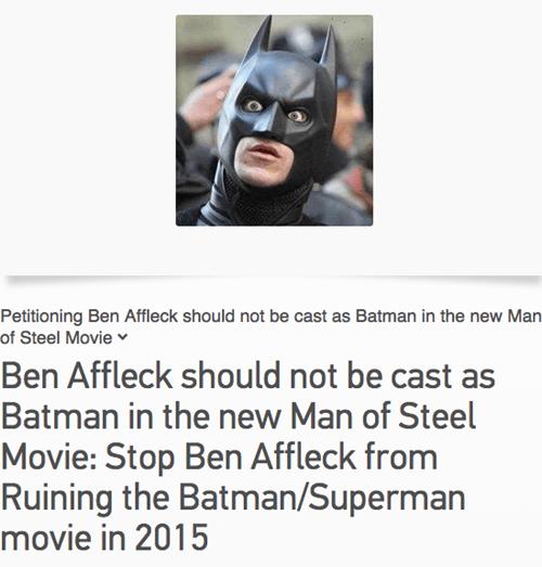 batfleck ben affleck batman petitions - 7756224512