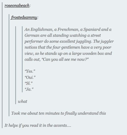 languages,tumblr,Spain,Germany,si,oui,france,ja,yes