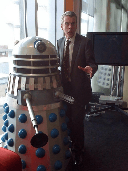 Peter Capaldi daleks 12th Doctor doctor who - 7756351488