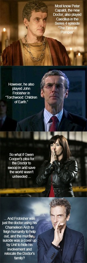 Peter Capaldi Torchwood doctor who - 7756470016