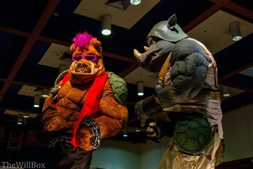 cosplay TMNT rocksteady bebop