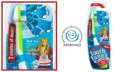 hannah montana torture toothbrush - 7756720128