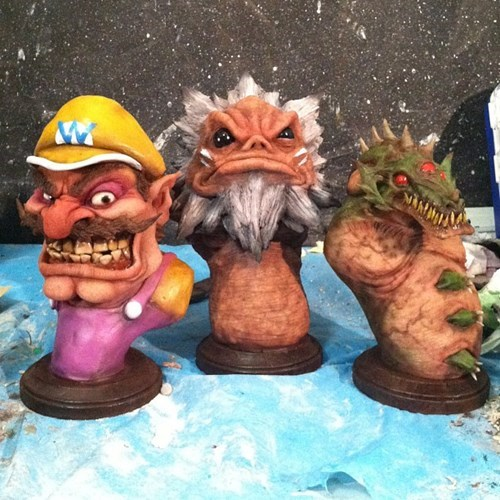 wario,gorons,video games