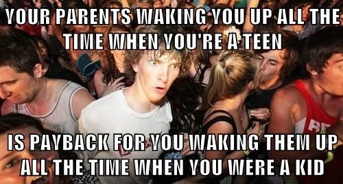 parenting,Memes,sudden clarity clarence