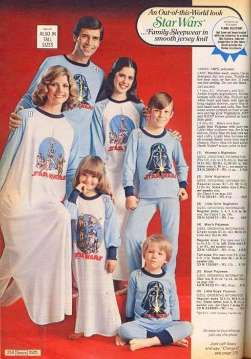 star wars pjs family poorly dressed g rated - 7756786176