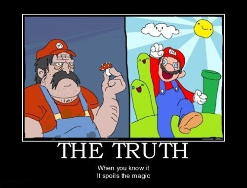 truth drug stuff mario funny - 7757297920