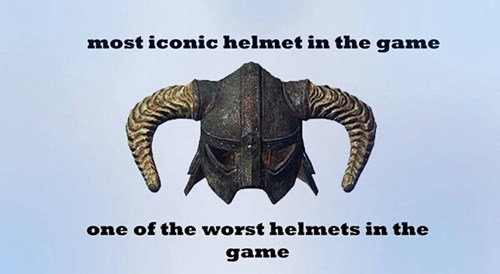 video game logic Skyrim