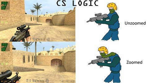 counter strike,video game logic
