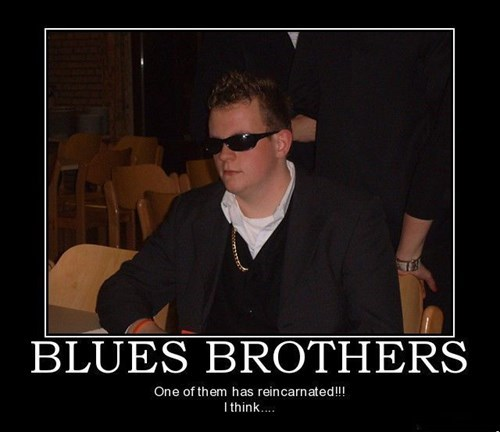 wtf funny douche blues brothers - 7757455360