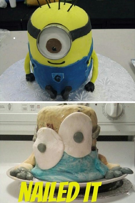 cake despicable me FAIL Nailed It - 7757463296