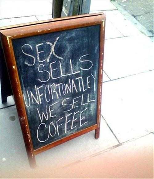 sex sells the next best thing coffee - 7757579008