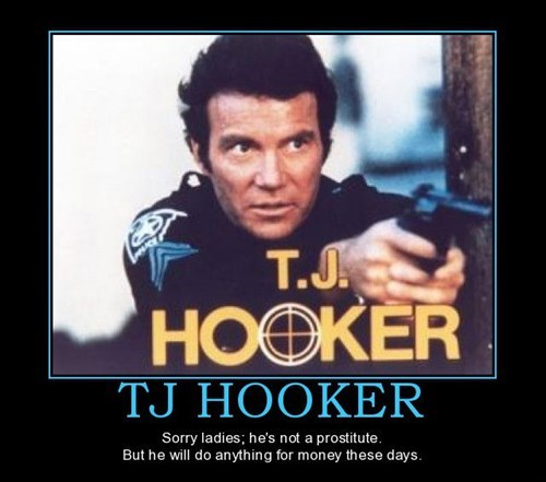 tj hooker,William Shatner,funny