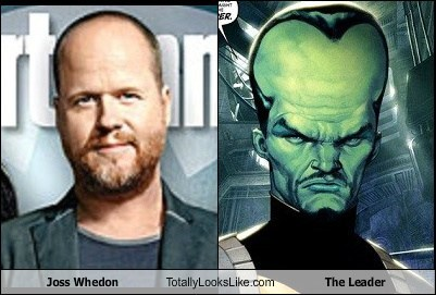 marvel marvel comics the leader big forehead totally looks like whedonverse Joss Whedon hulk