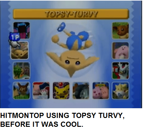 hitmontop,hipsters,topsy turvy