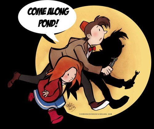 Tintin,Fan Art,11th Doctor,doctor who