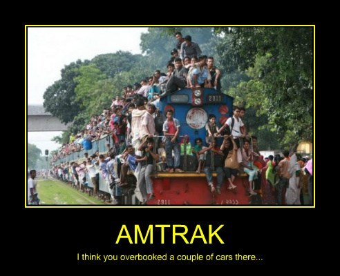 amtrak full train funny - 7759802368