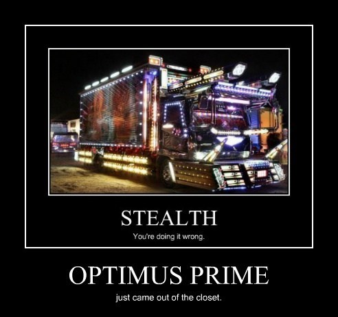 coming out fabulous optimus prime funny