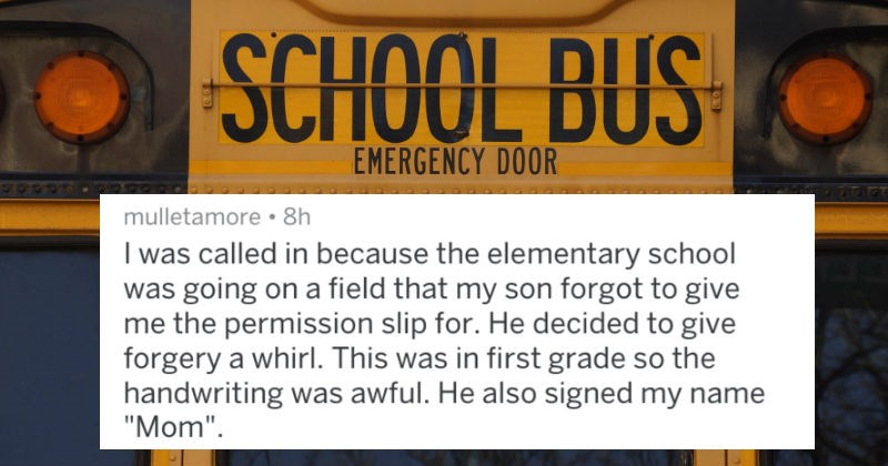 20 Parents Share The Funniest Reasons They've Been Called Into School To Collect Their Children
