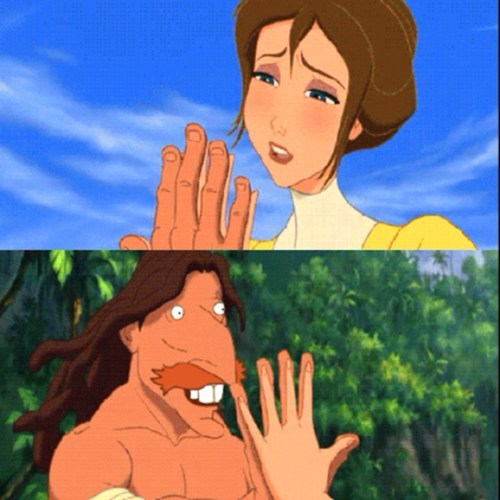 crossover,disney,tarzan,The Wild Thornberrys,cartoons,nigel thornberry
