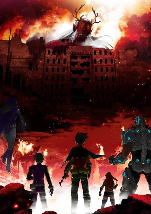 crossover anime Fan Art teen titans attack on titan cartoons - 7760280320