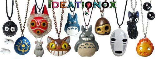 necklaces,anime,for sale,studio ghibli