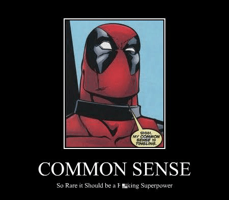 deadpool common sense - 7761138944