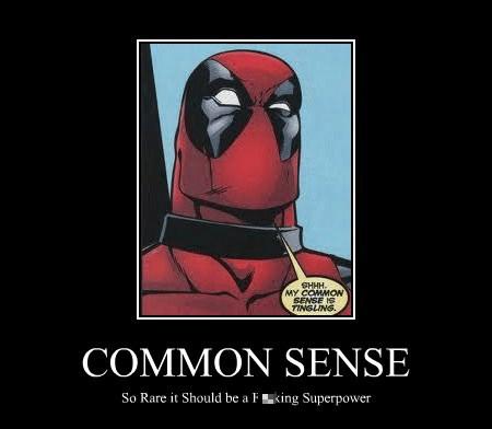 deadpool common sense - 7761138944