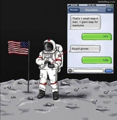 cellphones signal astronauts funny - 7761231616