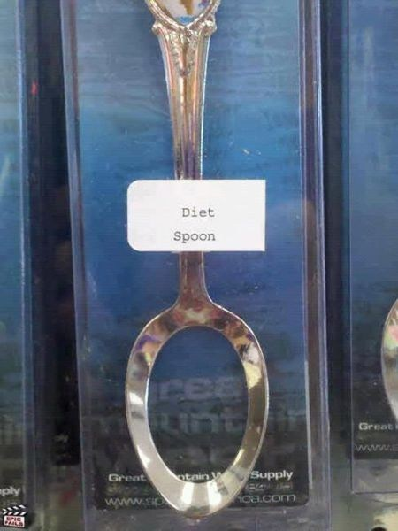 diets silverware spoons diet spoon